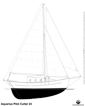 Aquarius Pilot Cutter 24 sailboat thumbnail