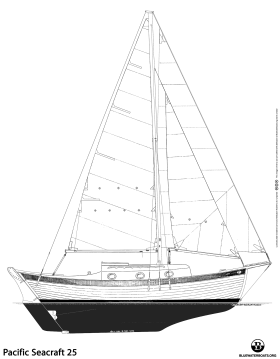 Pacific Seacraft 25 sailboat thumbnail