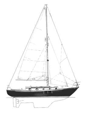 Pacific Seacraft 34 sailboat thumbnail