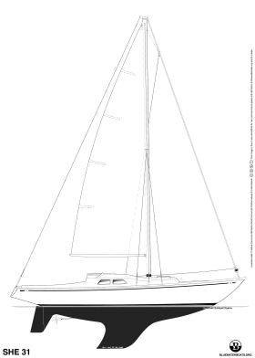 SHE 31 sailboat thumbnail