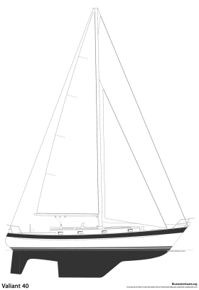 Valiant 40 sailboat thumbnail